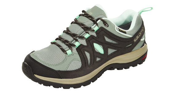Salomon Ellipse 2 GTX Hiking Shoes Women light tt/asphalt/jade green